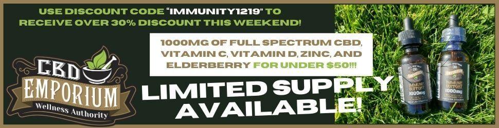 Special offer at CBD Emporium