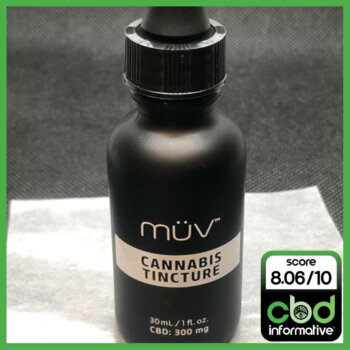 MUV All Natural Cannabis Sublingual CBD Tincture