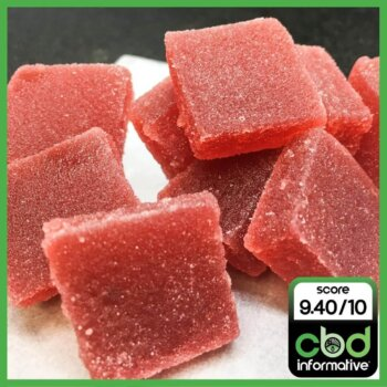 Good Things Coming Very Cherry Cannabis Infused CBD/THC 1:1 Fruit Jellies
