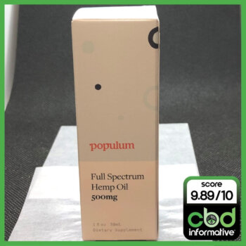 Populum Full Spectrum Hemp Oil