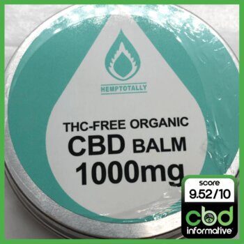 Hemp Totally THC-Free Organic CBD Balm Review - 1000mg