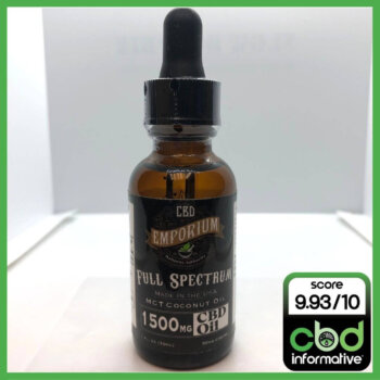 CBD Emporium (Wellness Authority) Full Spectrum CBD Oil