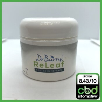 Dr. Burns ReLeaf CBD Muscle and Joint Ointment